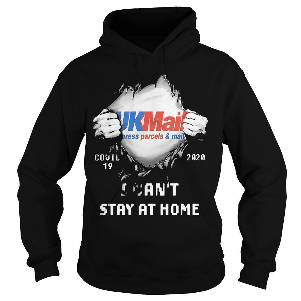 Inside Me Ukmail Press Parcel And Mail Covid 19 2020 I Can't Stay At HomeInside Me Ukmail Press Parcel And Mail Covid 19 2020 I Can't Stay At Home Hoodie