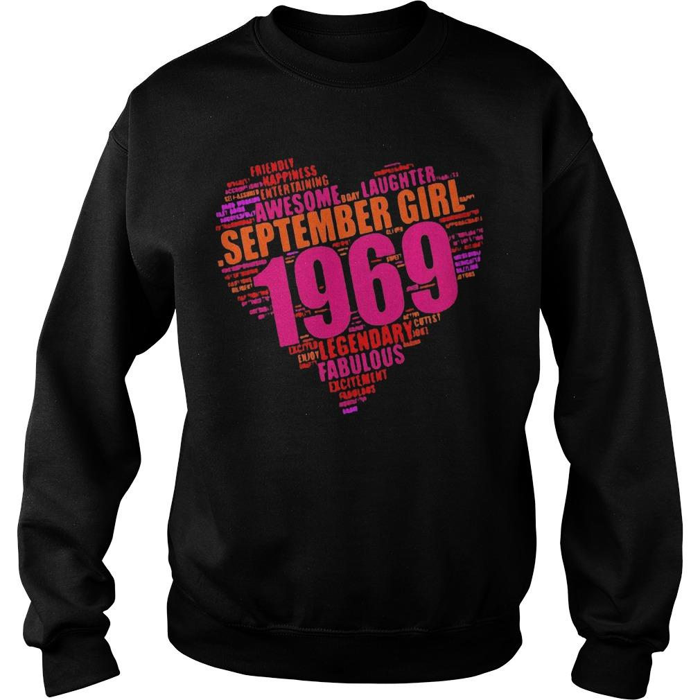 Legendary September Girl 1969 Awesome Fabulous Sweater