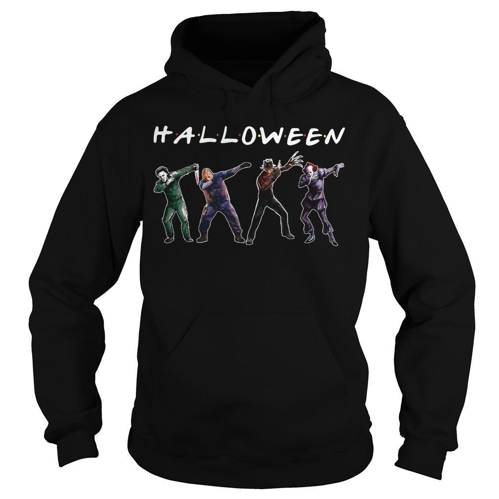 Michael Myers Jason Voorhees Freddy Krueger Pennywise Dabbing Halloween Hoodie