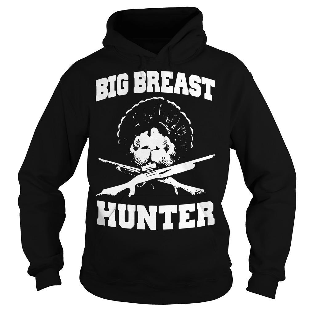 Peacock Big Breast Hunter Hoodie