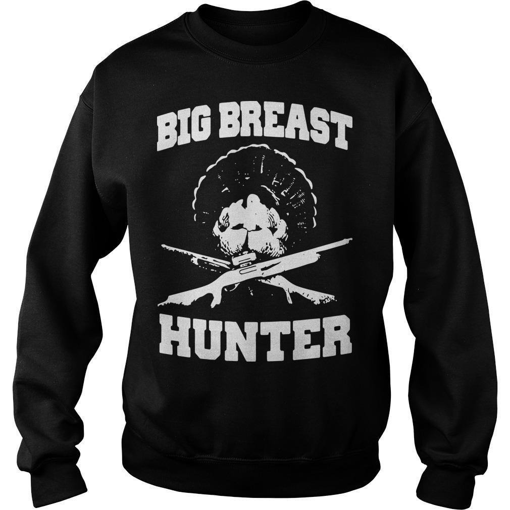 Peacock Big Breast Hunter Sweater