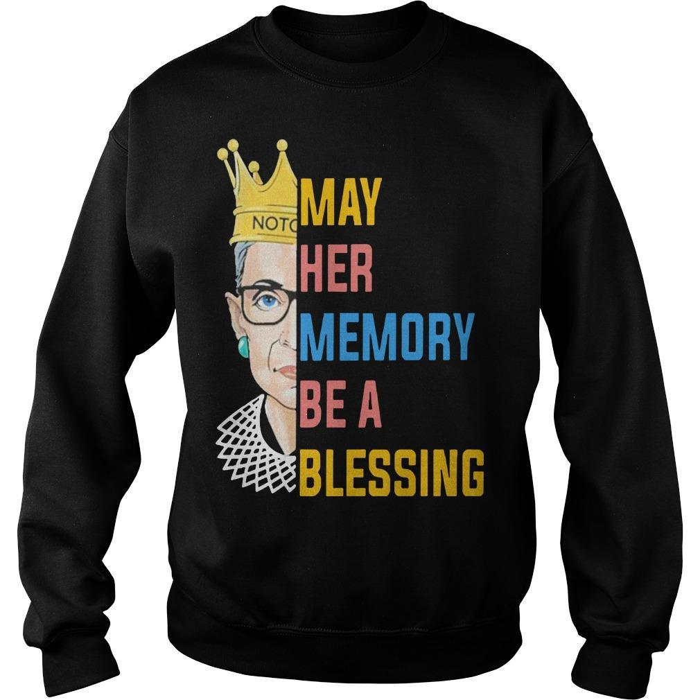 Rbg May Her Memory Be A Blessing Sweater