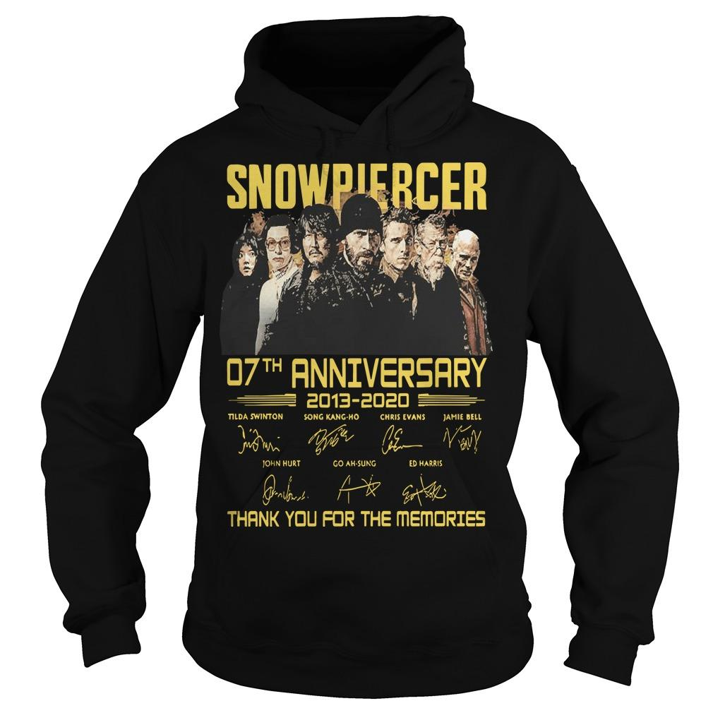 Snowpiercer 07th Anniversary 2013 2020 Thank You For The Memories Hoodie