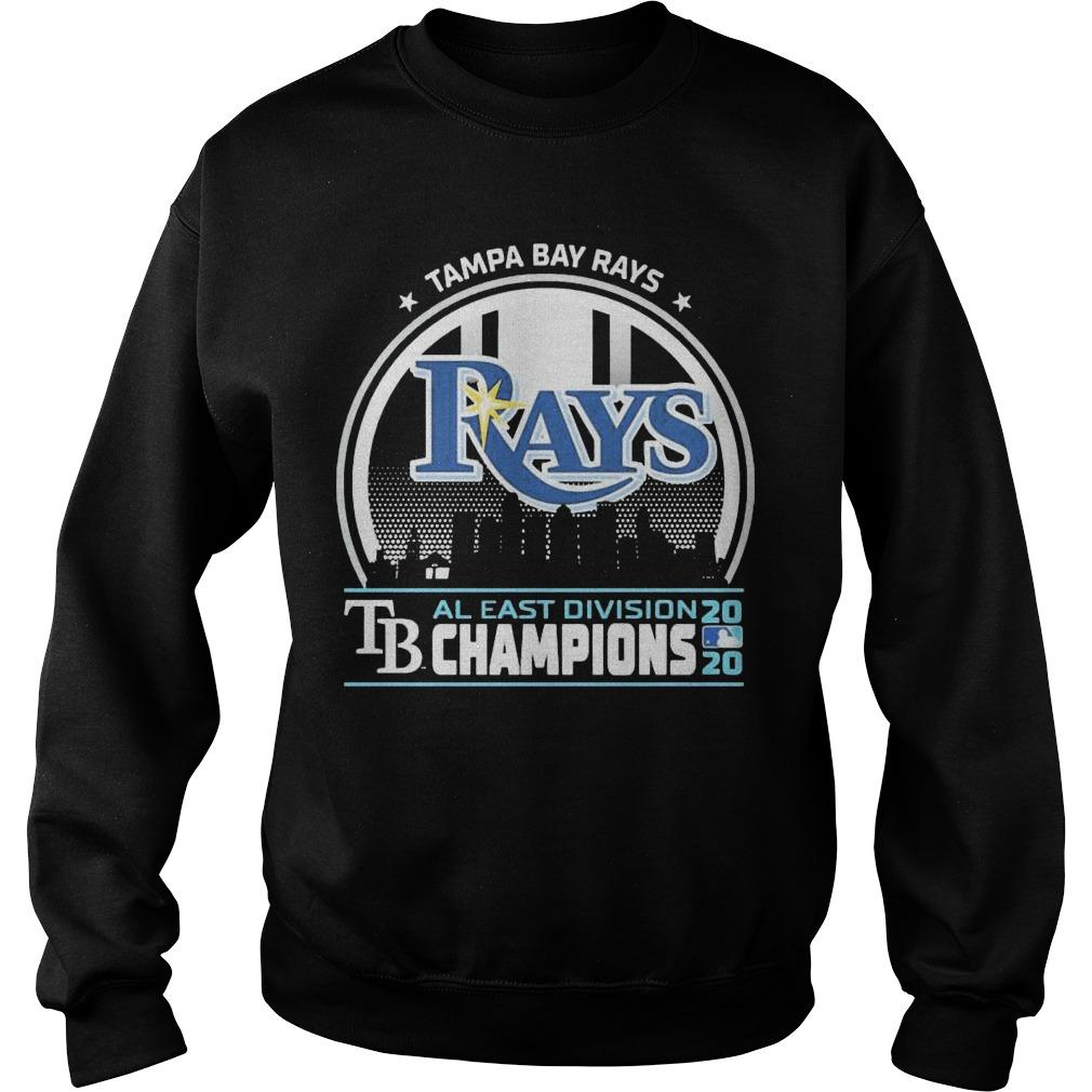 Tampa Bay Rays Tb Al East Division 2020 Champions Sweater