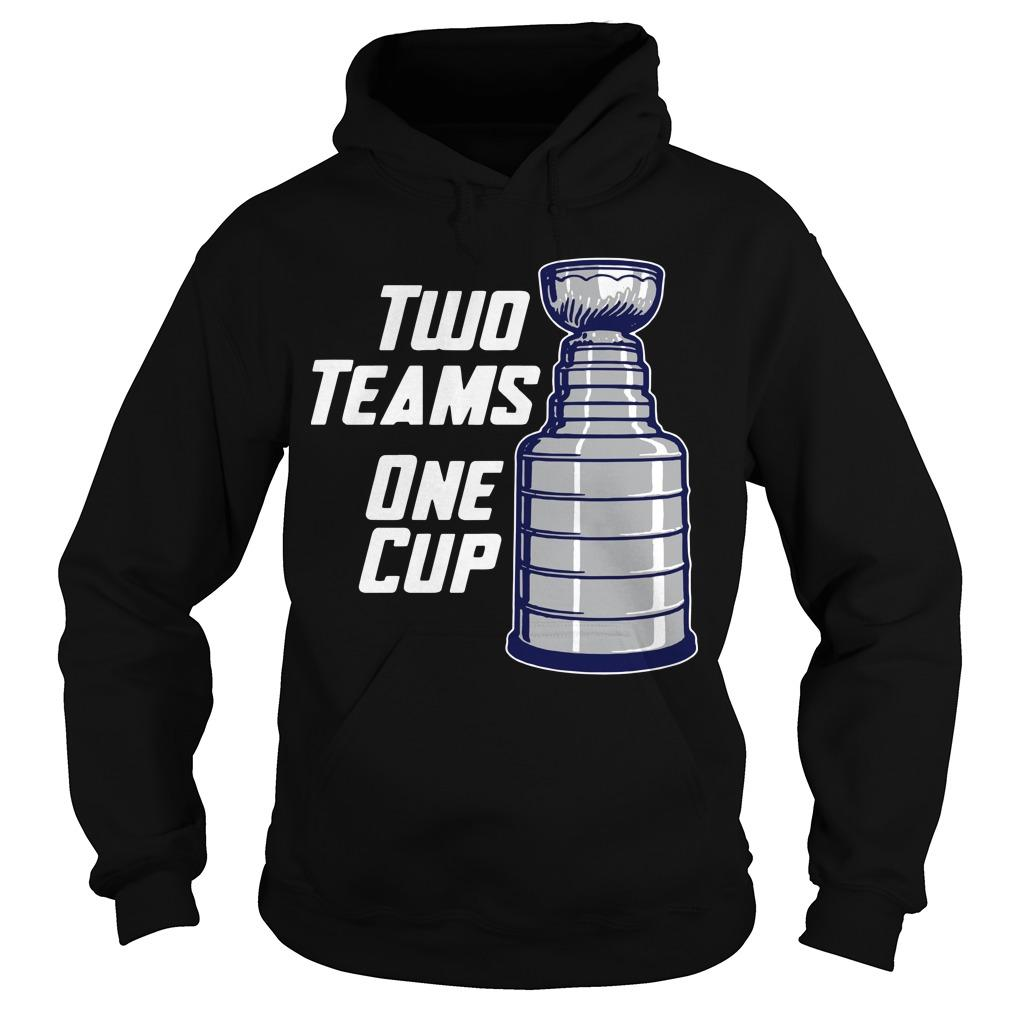 Two Teams One Cup Hoodie
