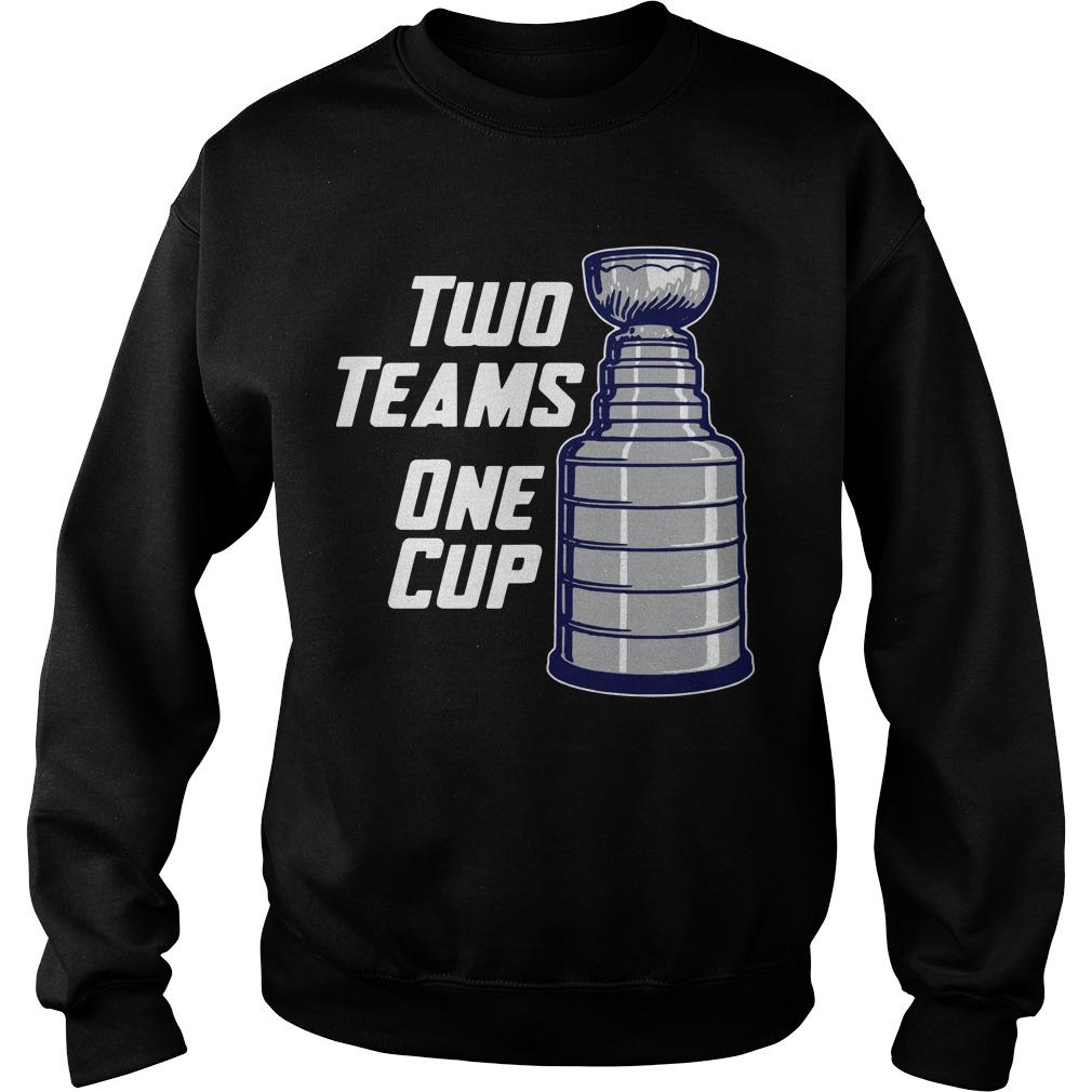 Two Teams One Cup Sweater