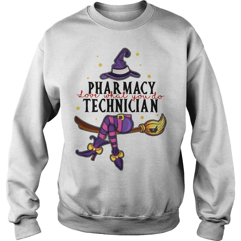 Witch Pharmacy Love What You Do Technician Sweater