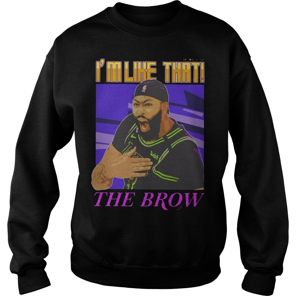 Anthony Davis I'm Like That The Brow Sweater
