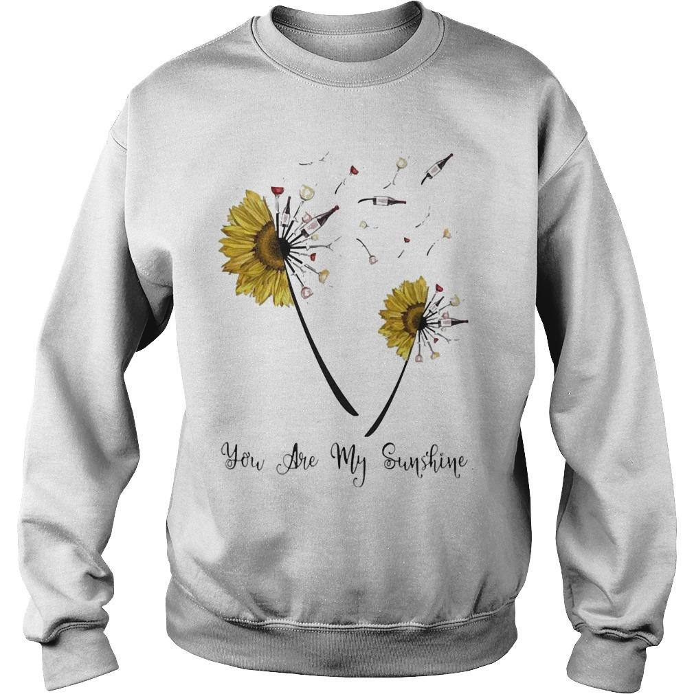 Dandelion Sunflower Wine You Are My Sunshine Sweater
