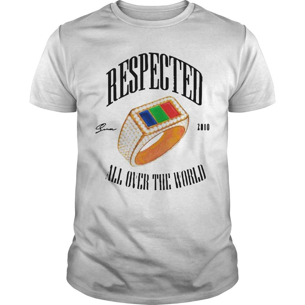 Dom Kennedy Respected 2010 All Over The World Shirt