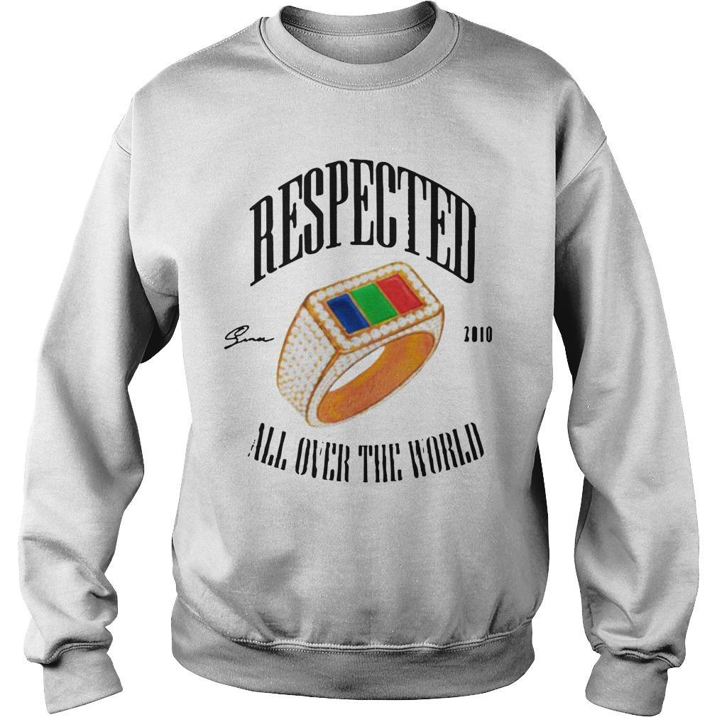 Dom Kennedy Respected 2010 All Over The World Sweater