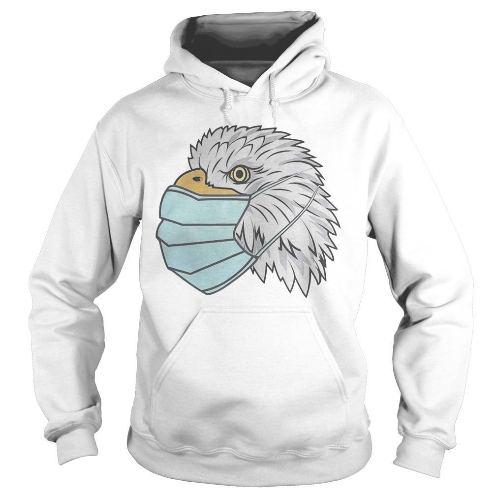 Eagle In A Face Mask Hoodie
