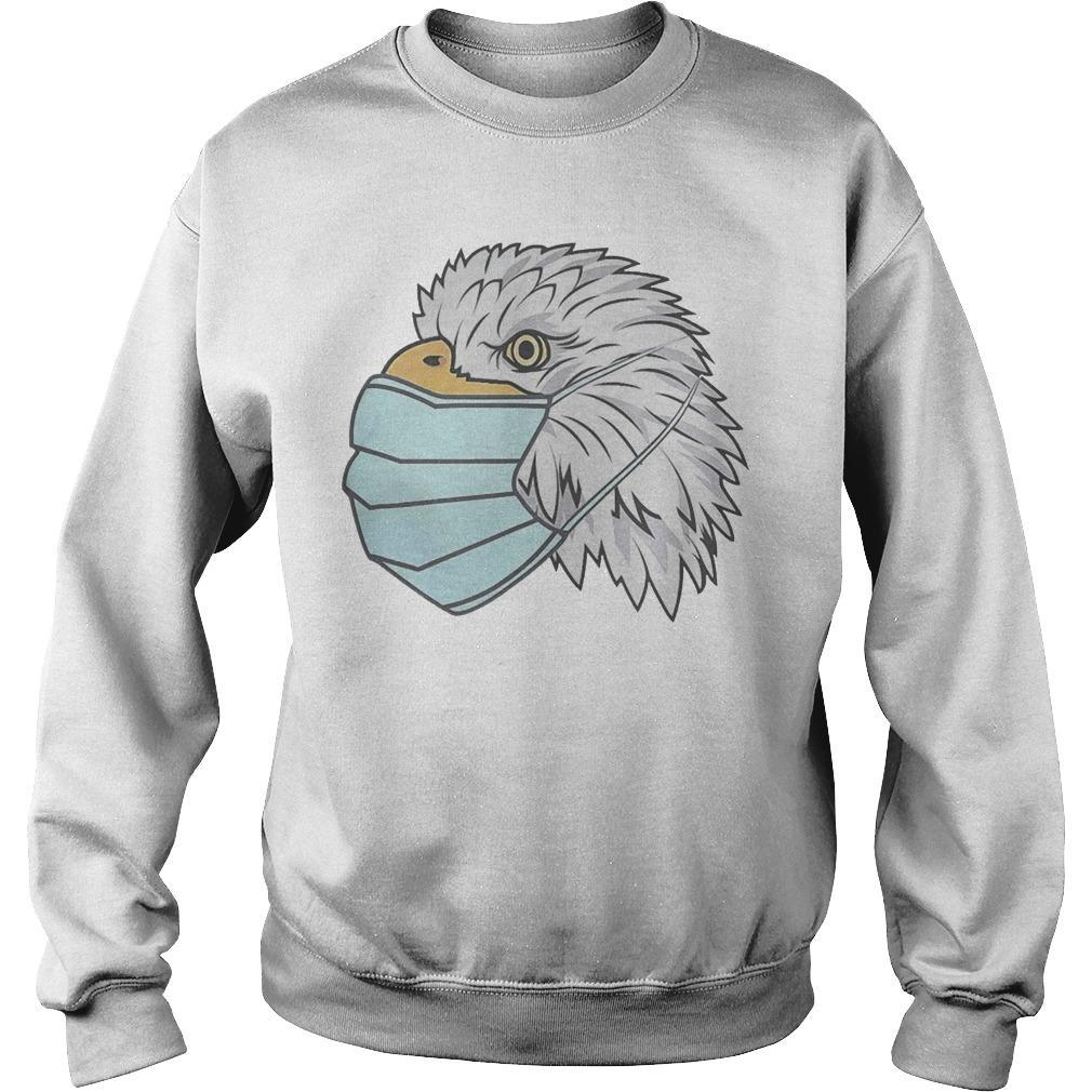 Eagle In A Face Mask Sweater