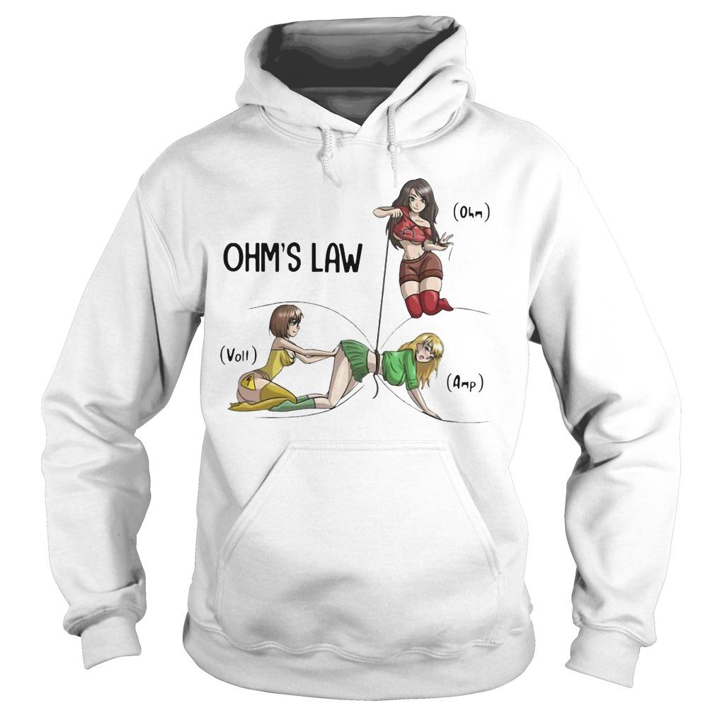 Girls Electricity Ohm's Law Hoodie