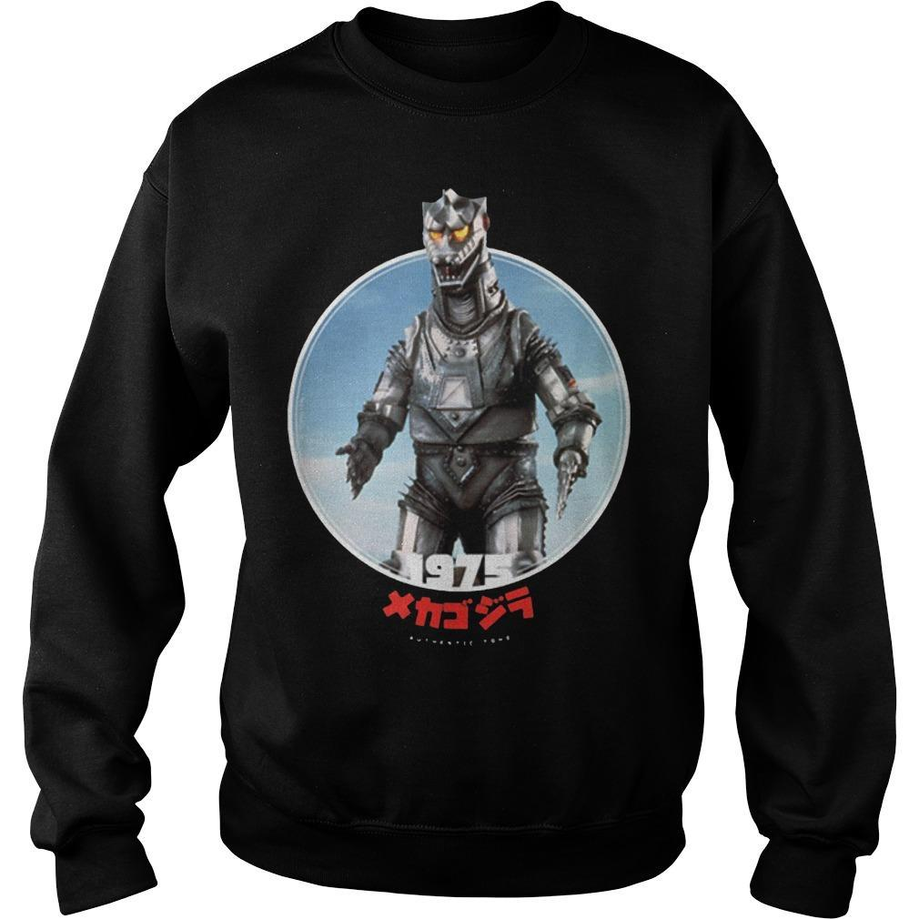 Godzilla Mechagodzilla 1975 Icons Of Toho Sweater