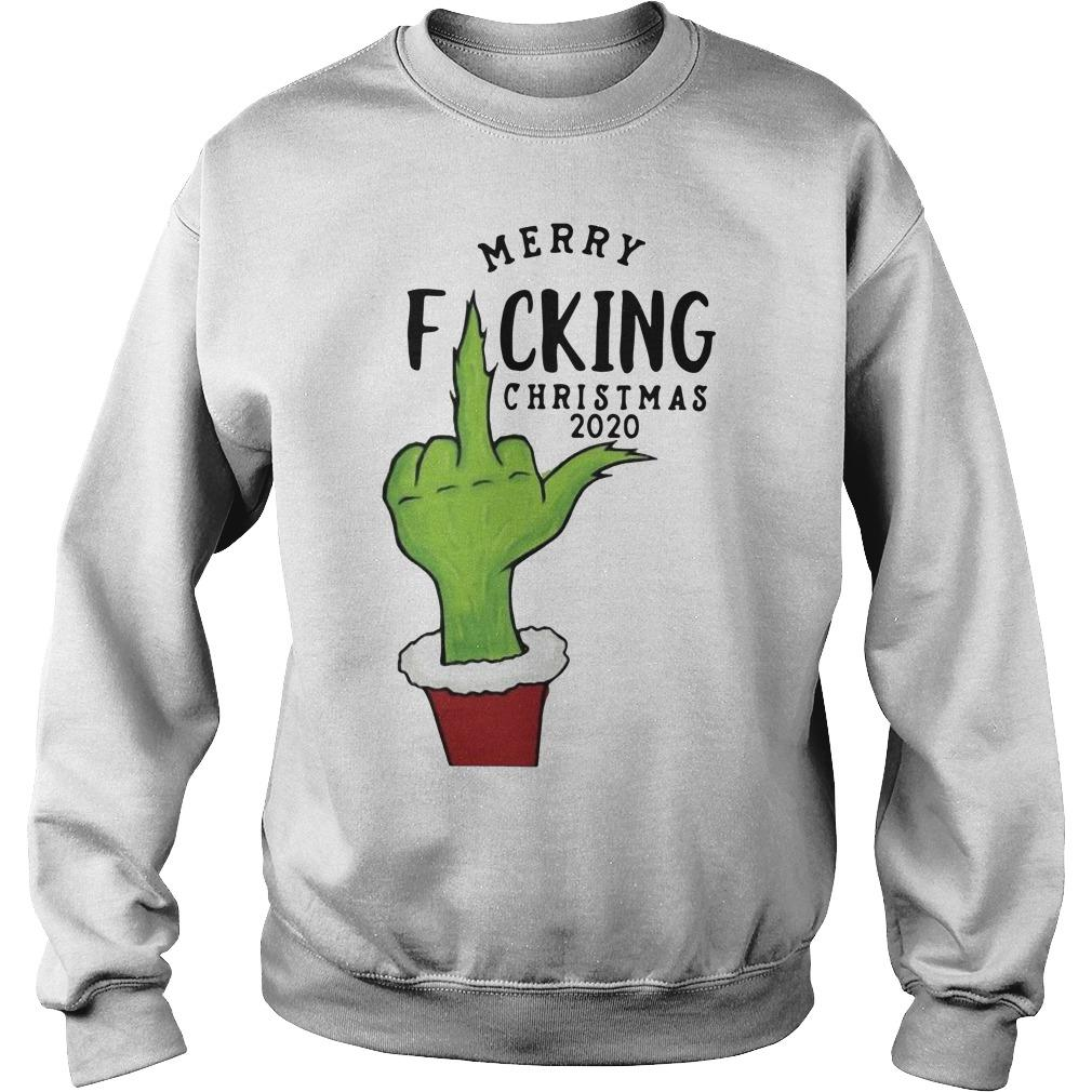 Grinch Merry Fucking Christmas 2020 Sweater