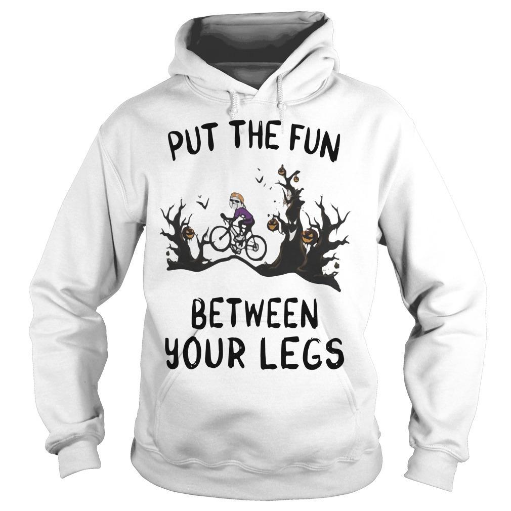 Halloween Put The Fun Between Your Legs Hoodie
