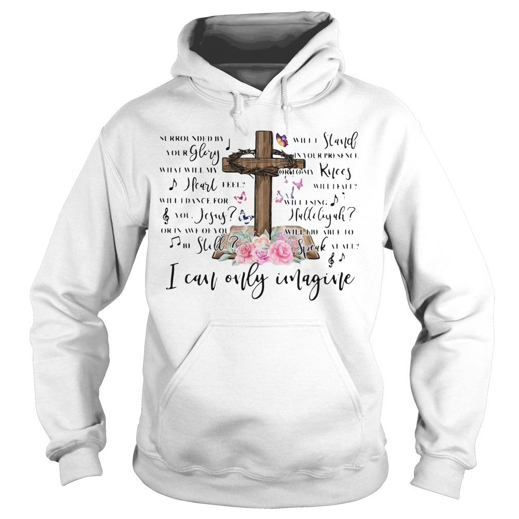 Jesus Surrounded By Your Glory Will Stand Your Presence I Can Only Imagine Hoodie