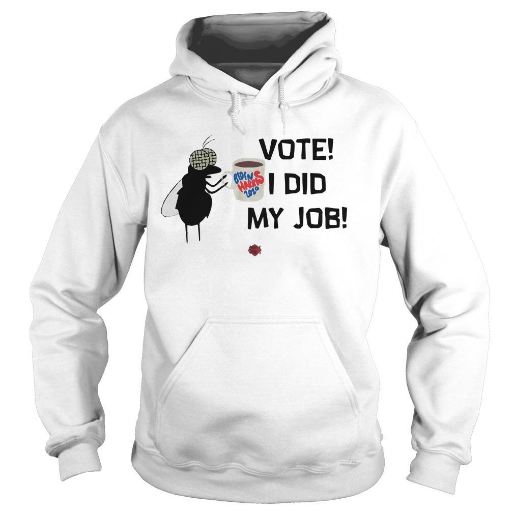 Job Biden 2020 Fly Vote I Did My Hoodie
