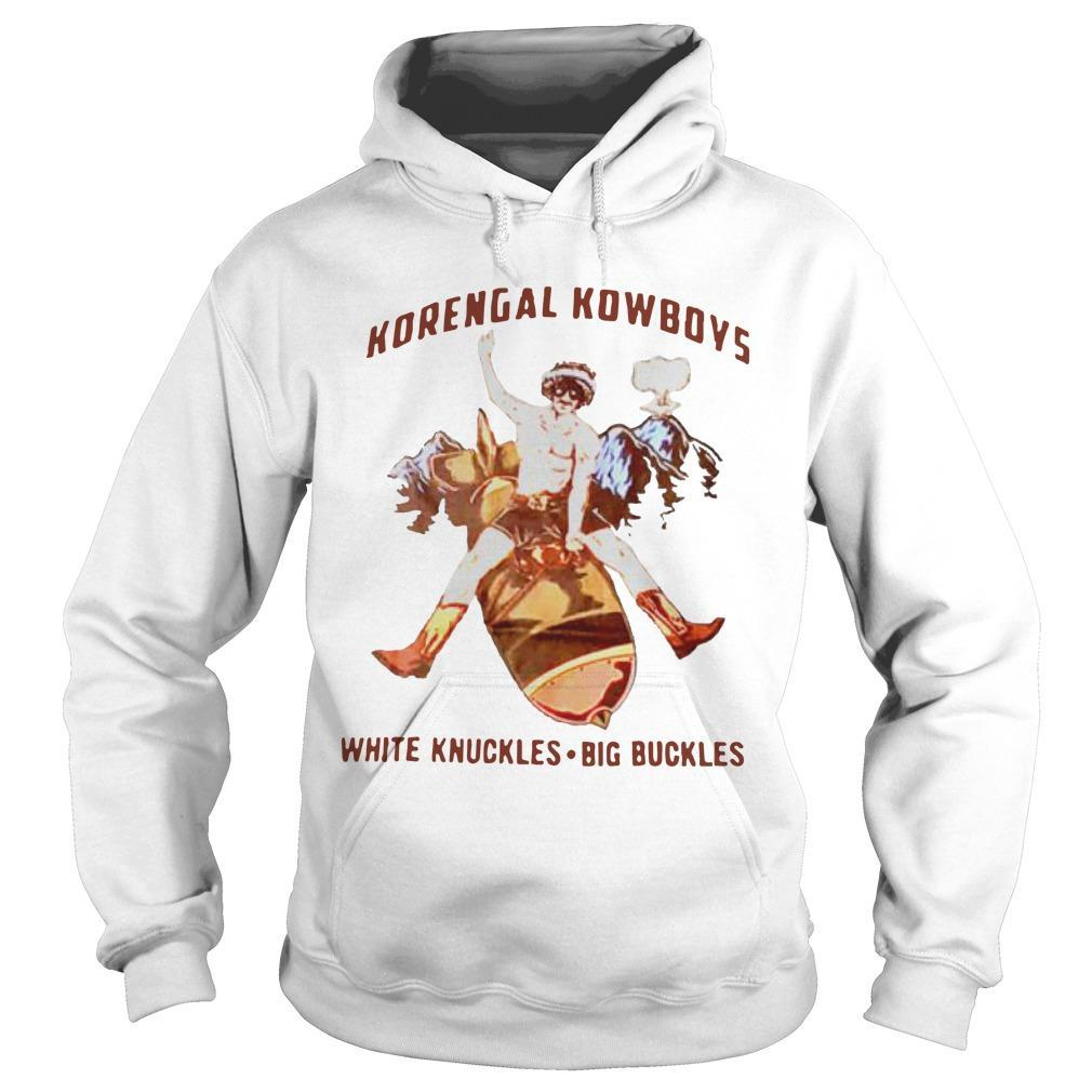 Korengal Kowboys White Knuckles Big Buckles Hoodie