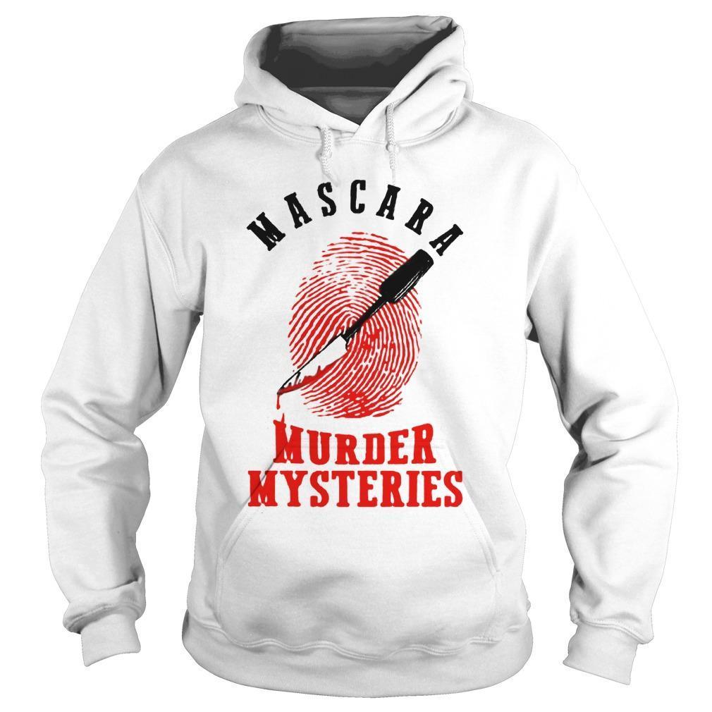 Mascara Murder Mysteries Hoodie