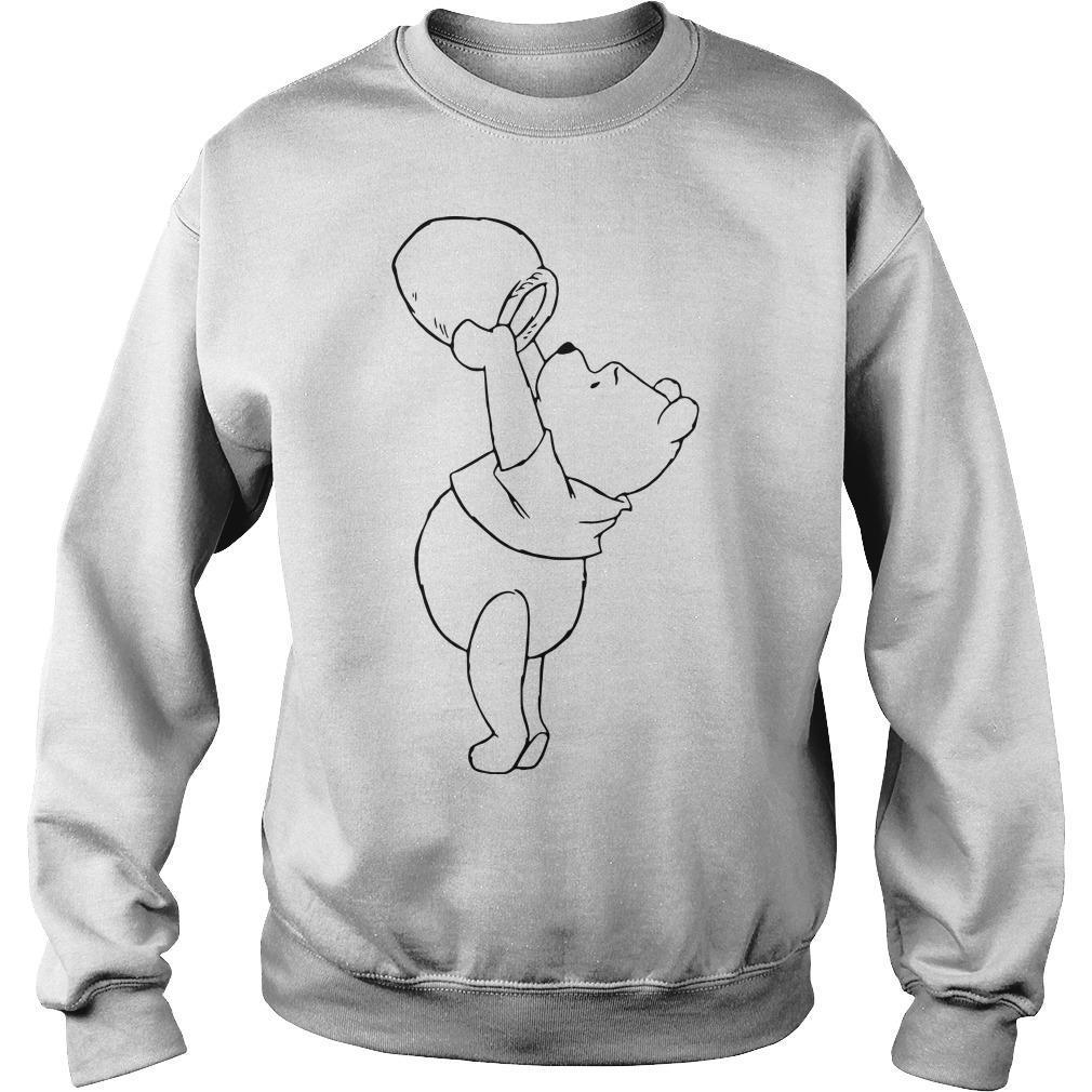 Pooh Eating Honey Sweater