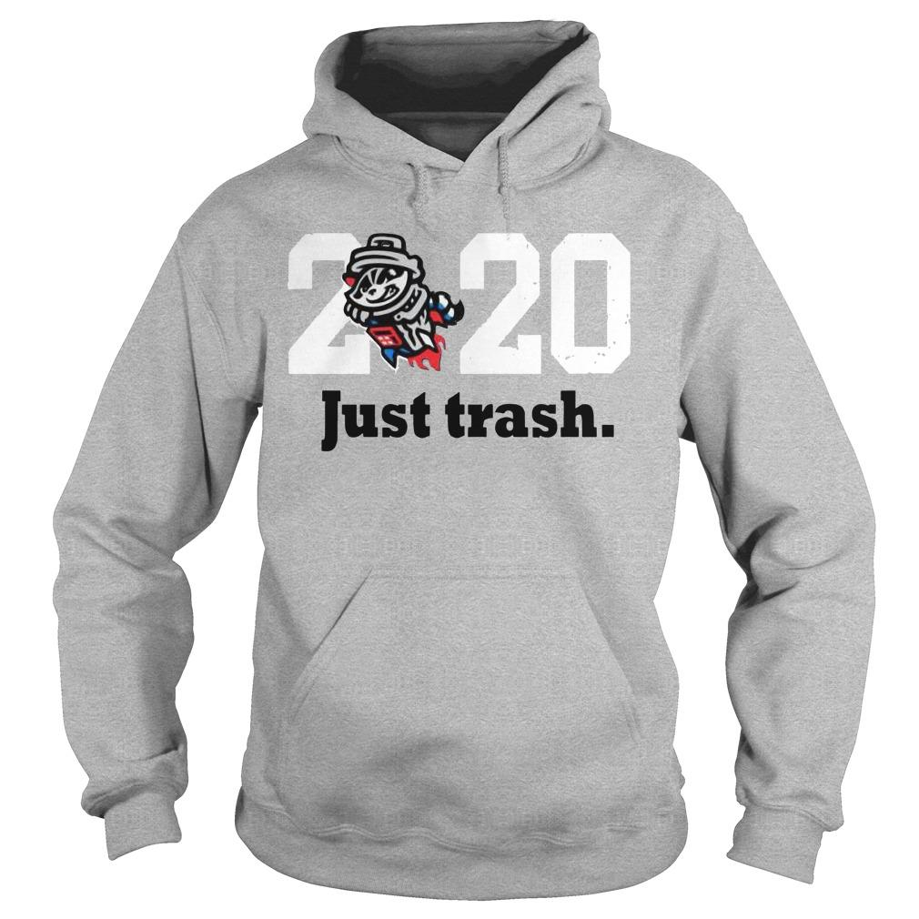 Royal Tri Blend Just Trash 2020 Hoodie