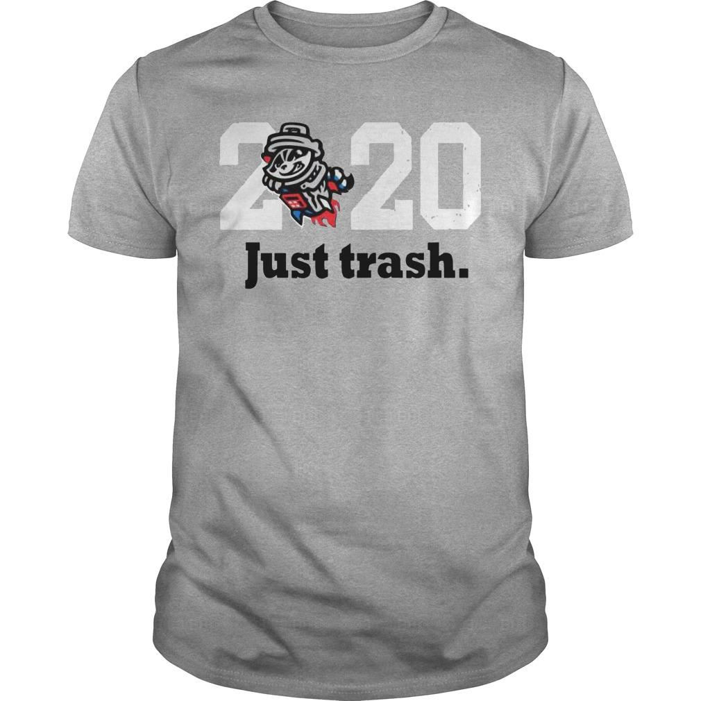 Royal Tri Blend Just Trash 2020 Shirt