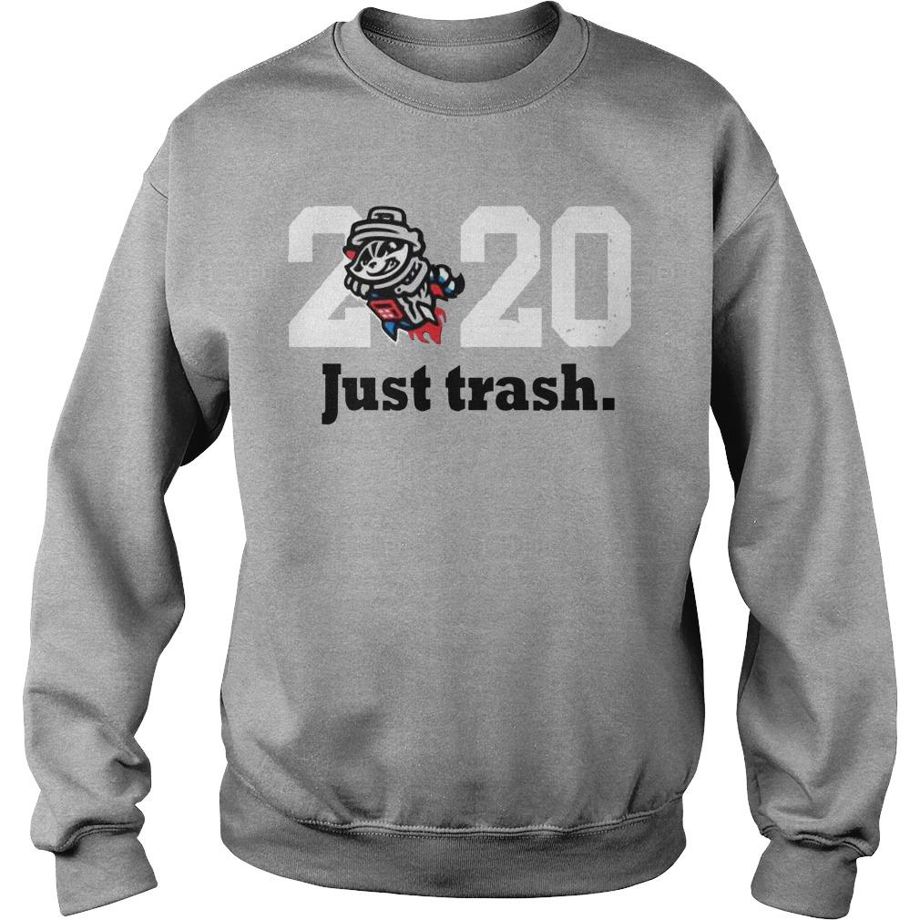 Royal Tri Blend Just Trash 2020 Sweater