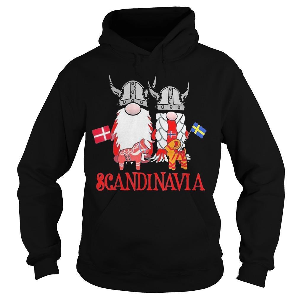Skandinavisches Nordischer Gnome Viking Scandinavia Hoodie