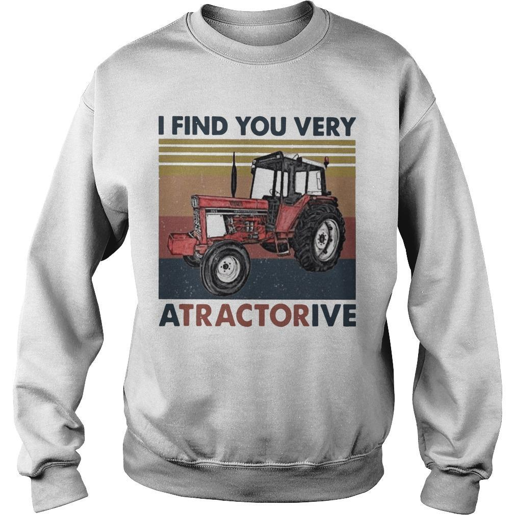 Vintage I Find You Very Atractorive Sweater