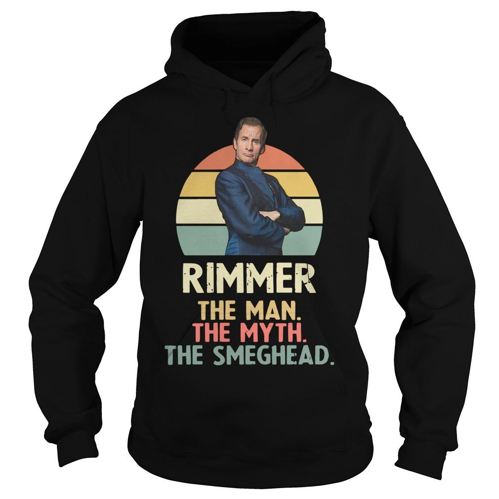 Vintage Rimmer The Man The Myth The Smeghead Hoodie