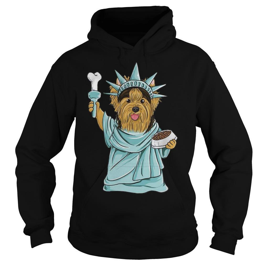 Yorkie Liberty Liberties Hoodie