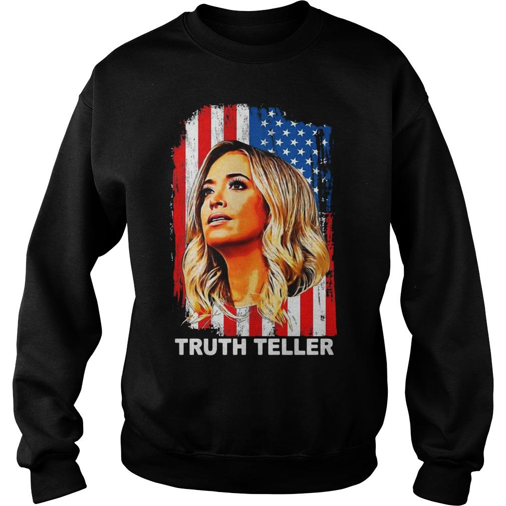 American Flag Kayleigh Mcenany Truth Teller Sweater