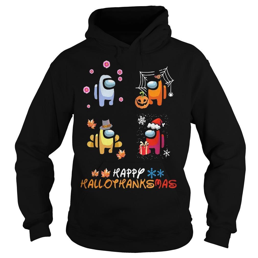 Among Us Happy Hallothanksmas Hoodie