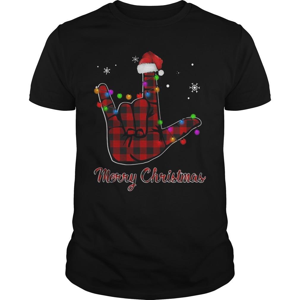 Be Kind Hand Merry Christmas Shirt