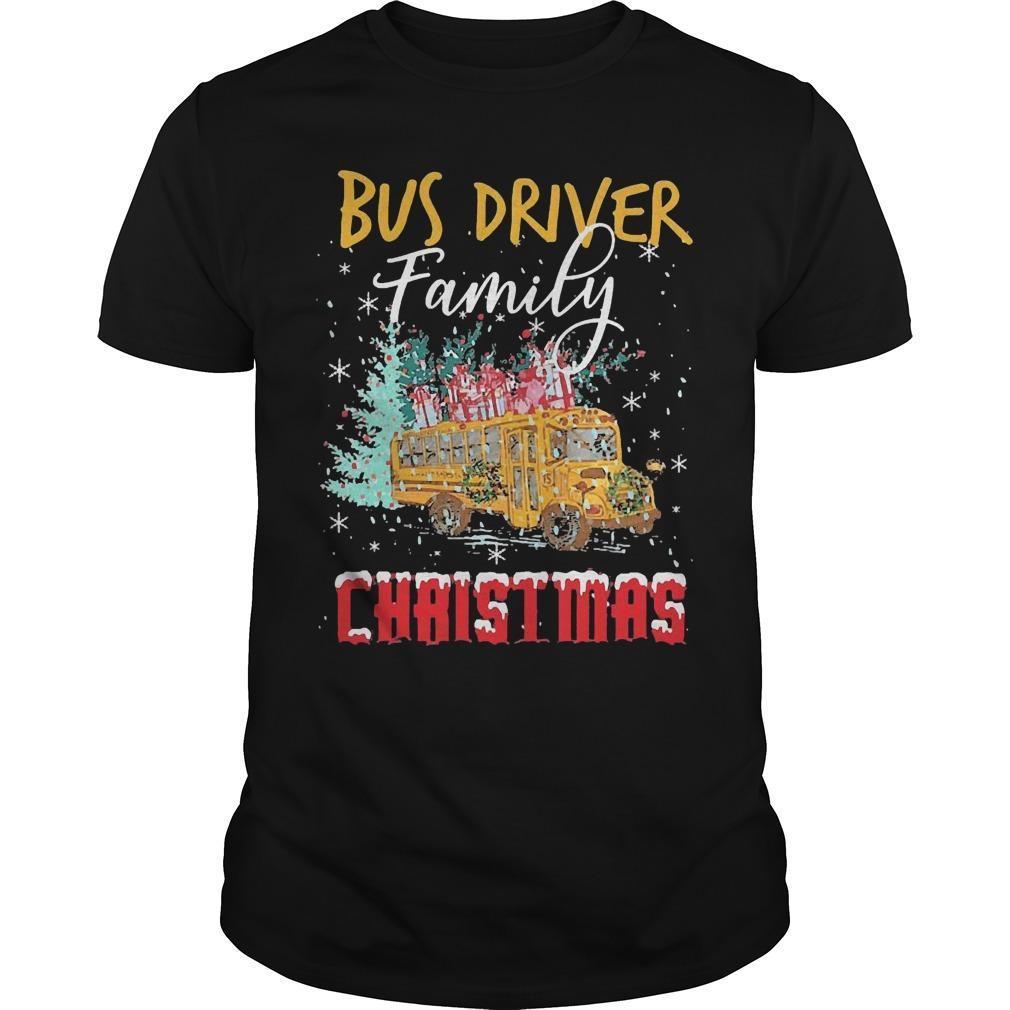 Bus Driver Family Christmas Shirt