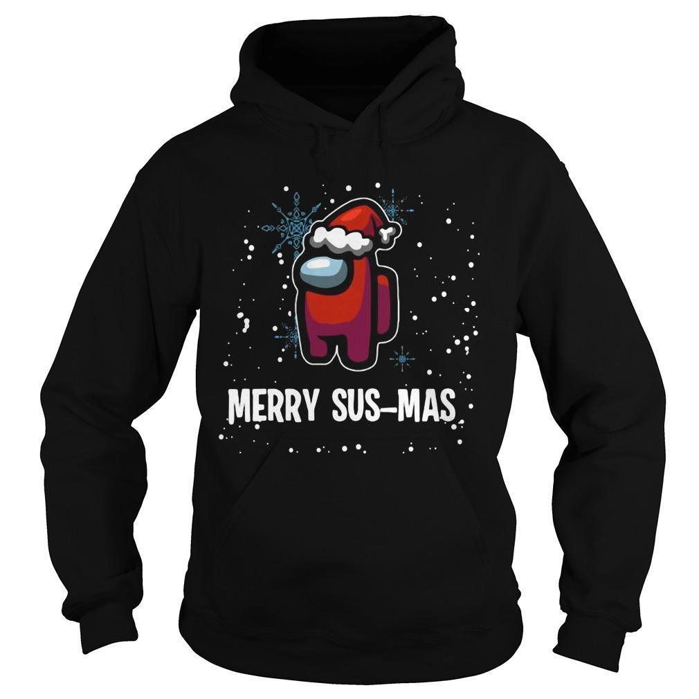 Christmas Among Us Merry Sus Mas Hoodie