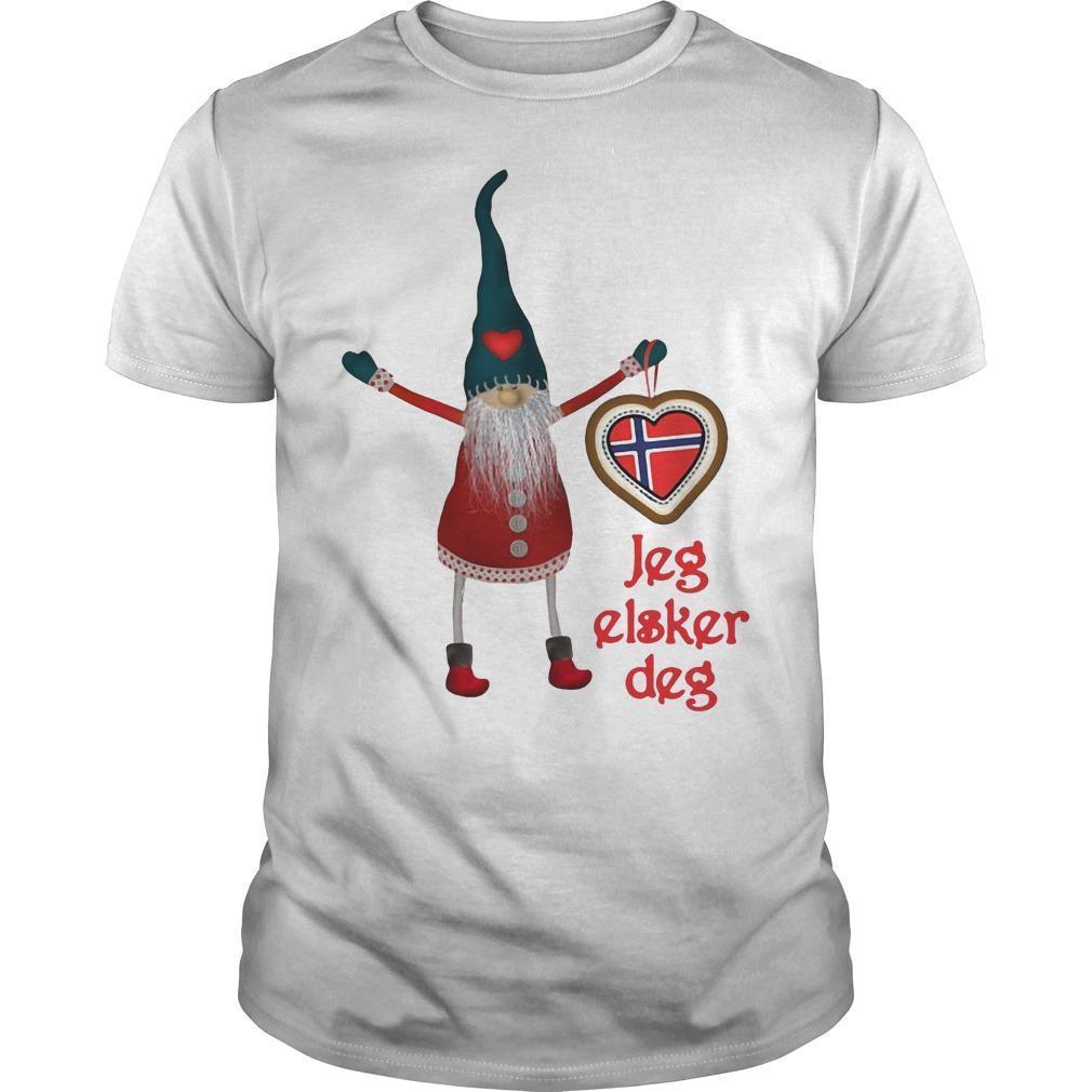 Gnomes Jeg Elsker Deg Shirt