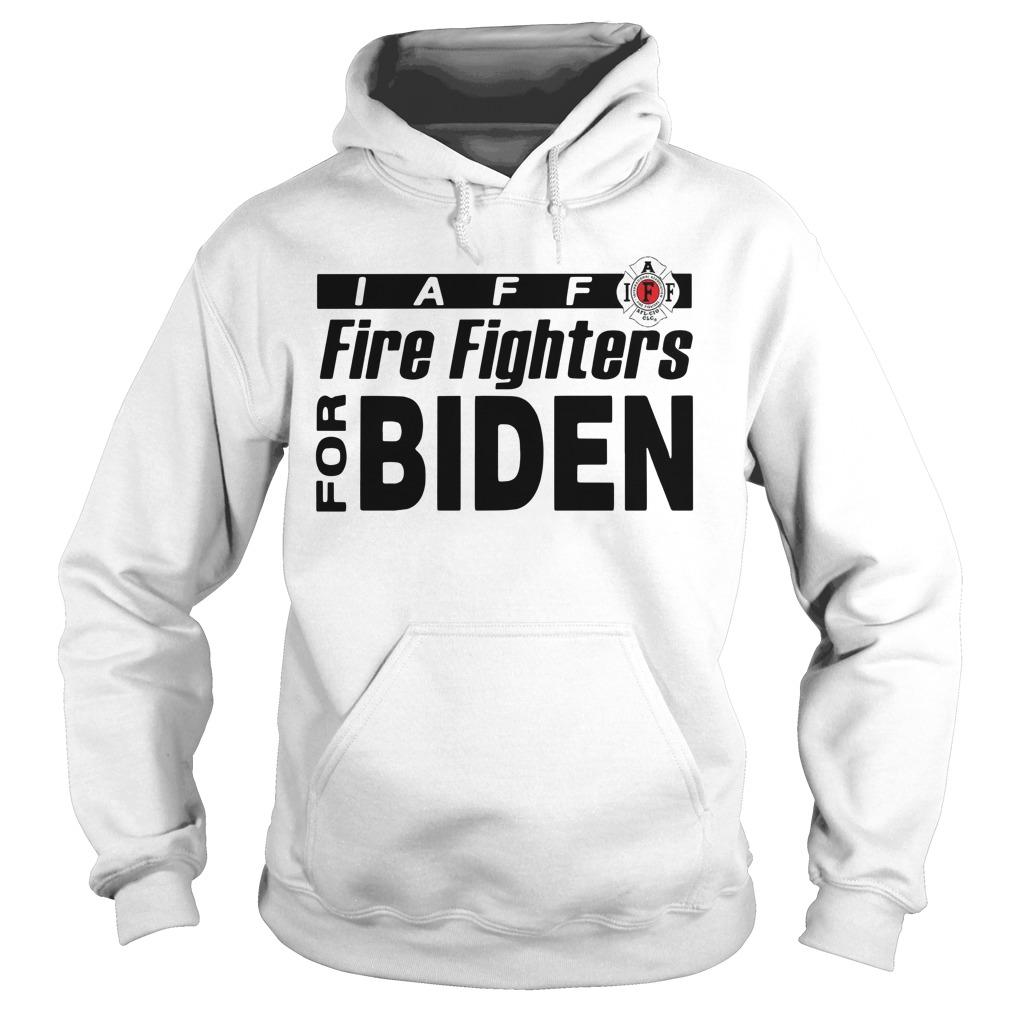 Laff Firefighters For Biden Hoodie