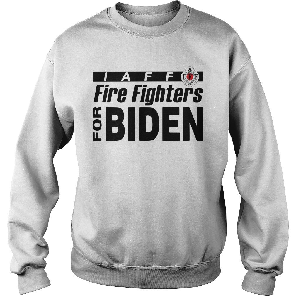 Laff Firefighters For Biden Sweater