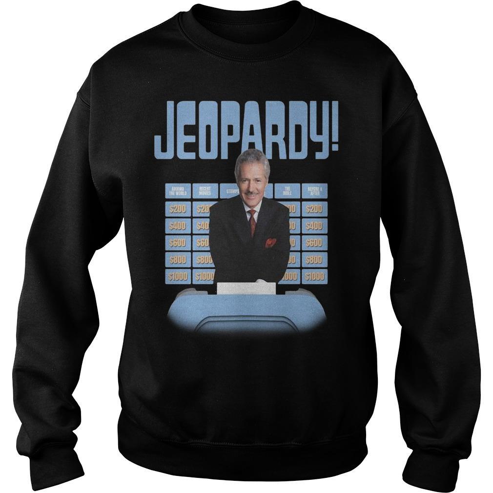 New Jeopardy Alex Trebek Jeopardy Sweater