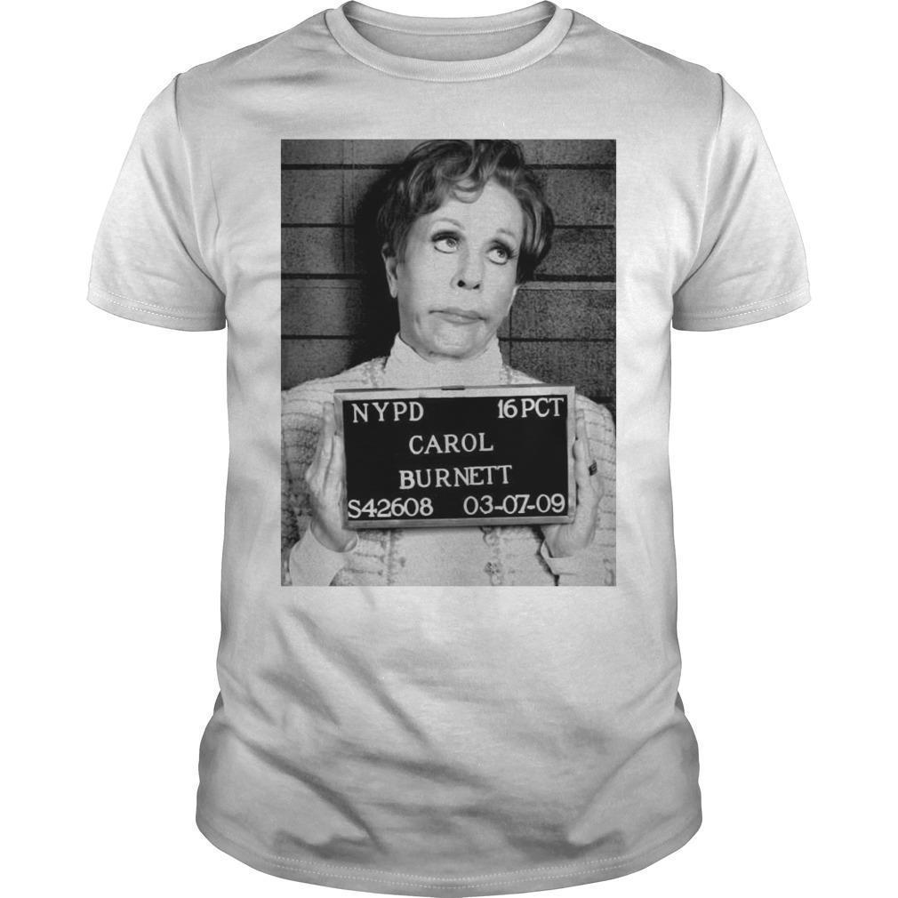 Nypd 16 Pct Carol Burnett S42608 03 07 09 Shirt
