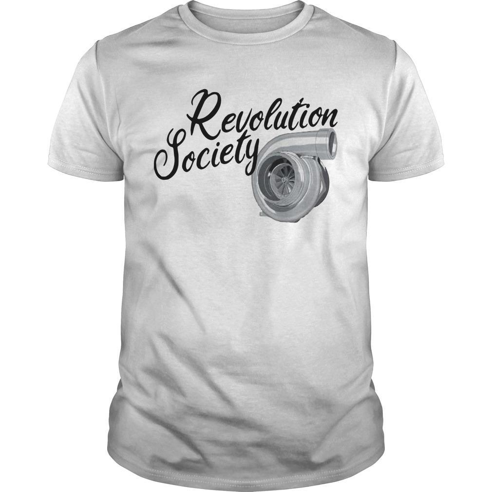 Rebranded Revolution Society Shirt