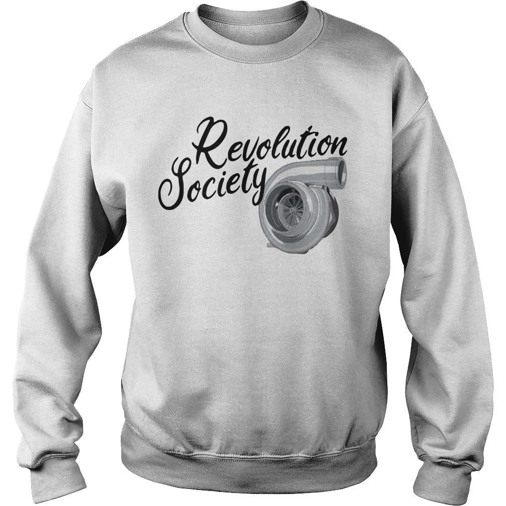 Rebranded Revolution Society Sweater
