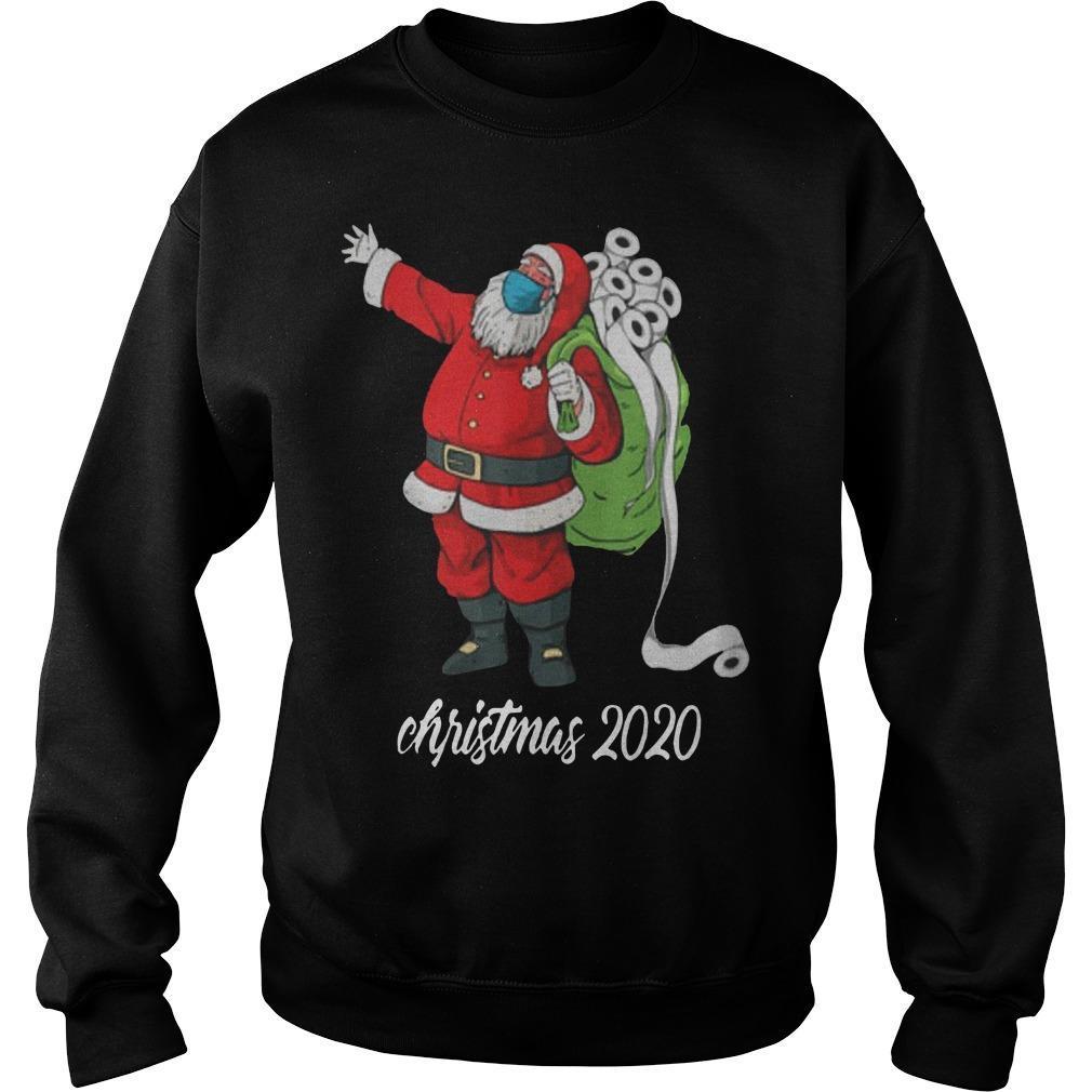Santa Mask Santa Bag Toilet Paper Christmas 2020 Sweater