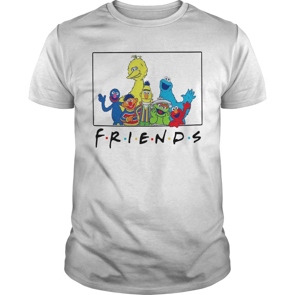 Sesame Street Tv Show Friends Shirt