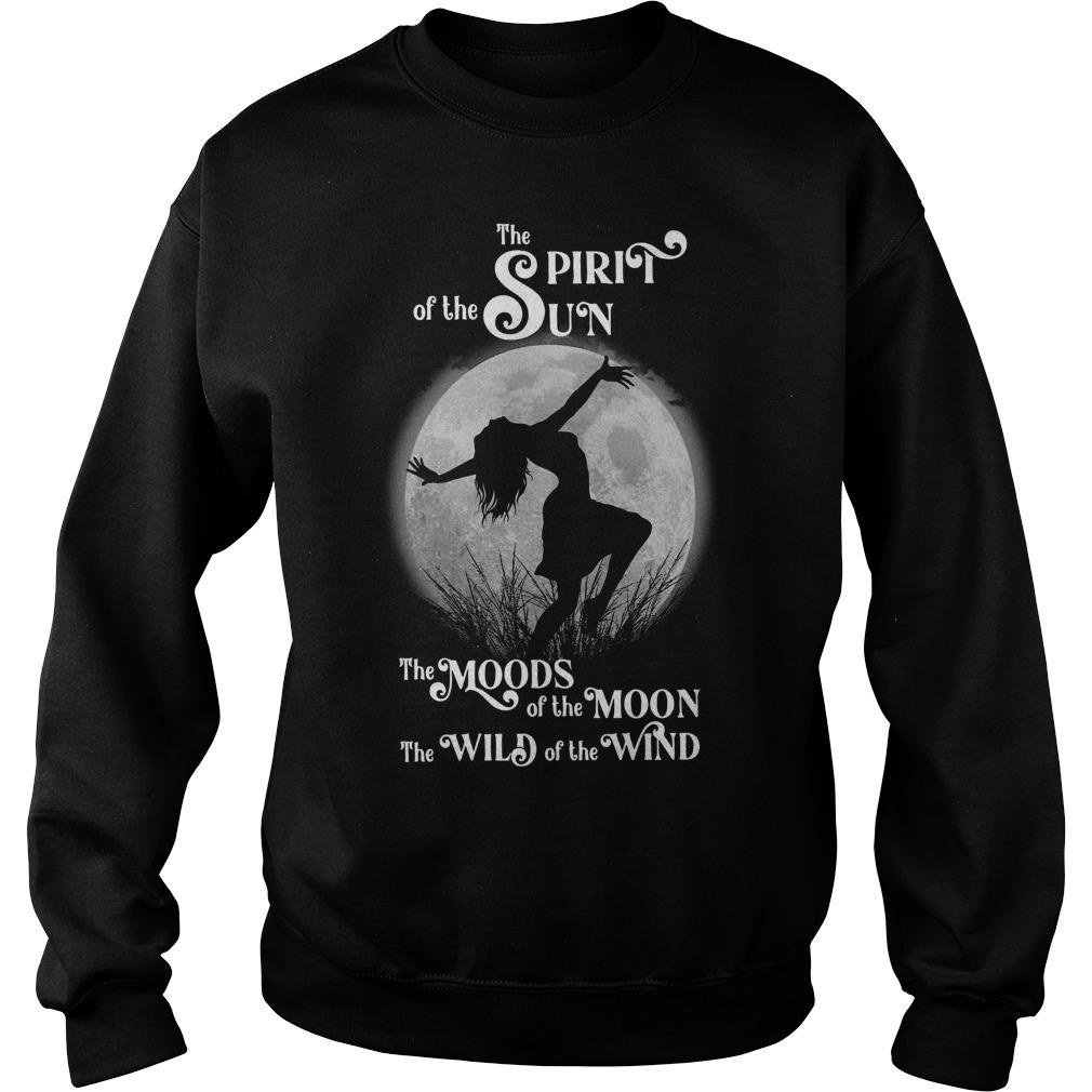 The Spirit Of The Sun The Moods Of The Moon The Wild Of The Wind Sweater