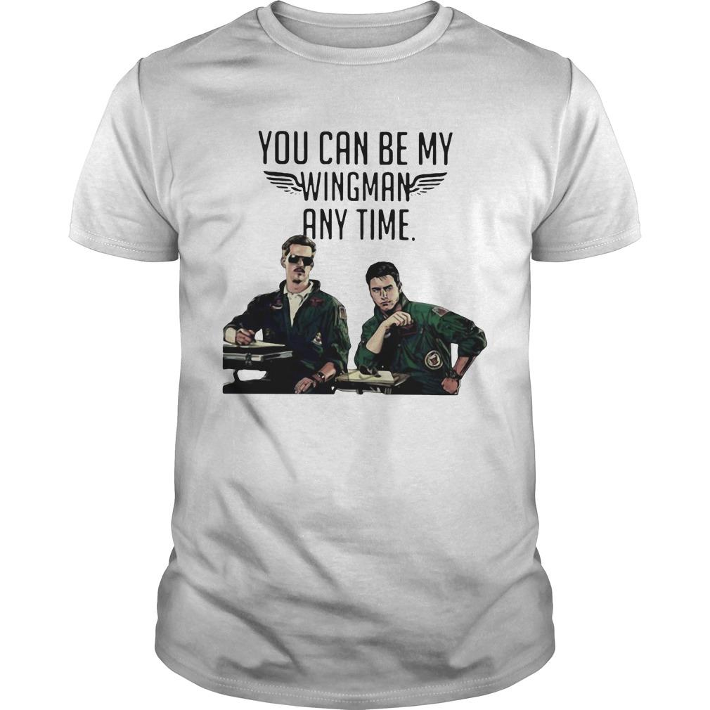 Tom Cruise You Can Be My Wingman Any Time Shirt