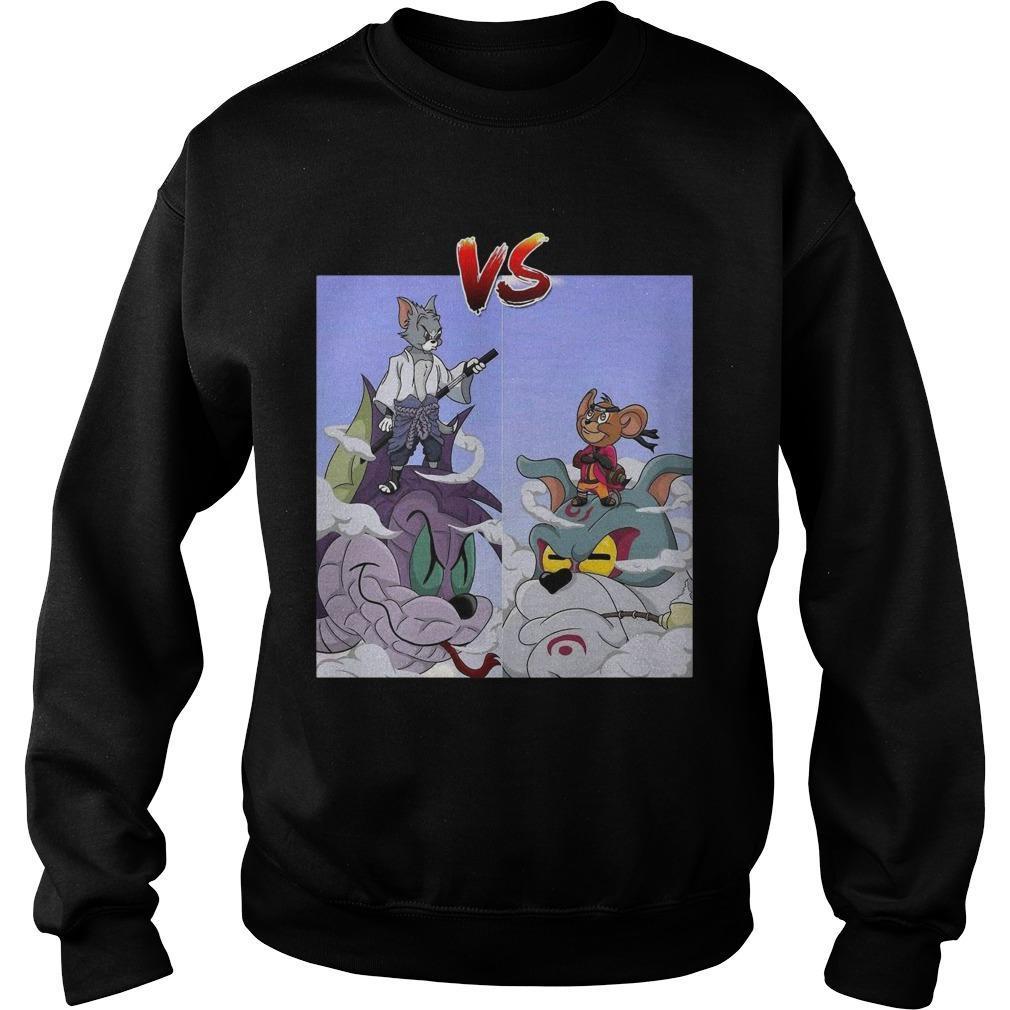 Tom Uchiha Vs Jerry Uzumaki Sweater